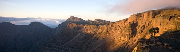 Rim of Mount Tambora on Sumbawa